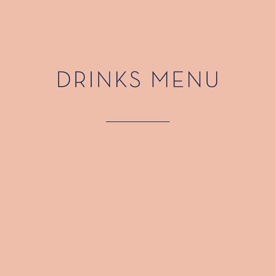 View Drinks menu