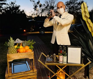 The Maybourne's Mobile Mixologist
